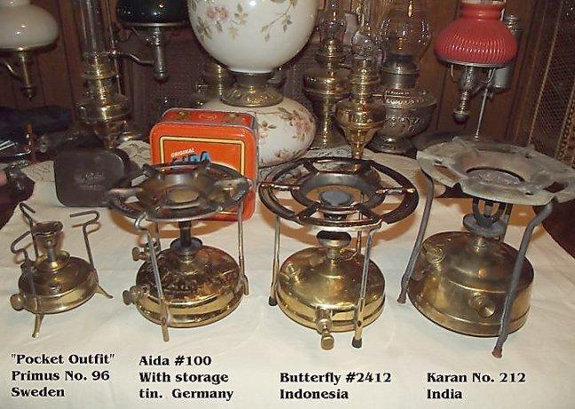 3 legs for primus Brass primus stove no.96