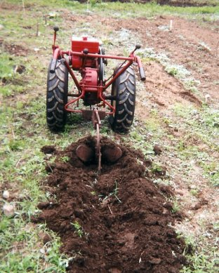 homemade garden tractor plans
